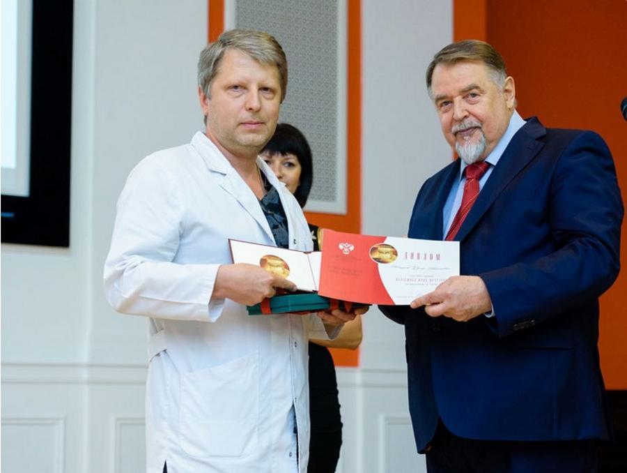 Доктору Нестерову вручена премия академика Юрия Шевченко